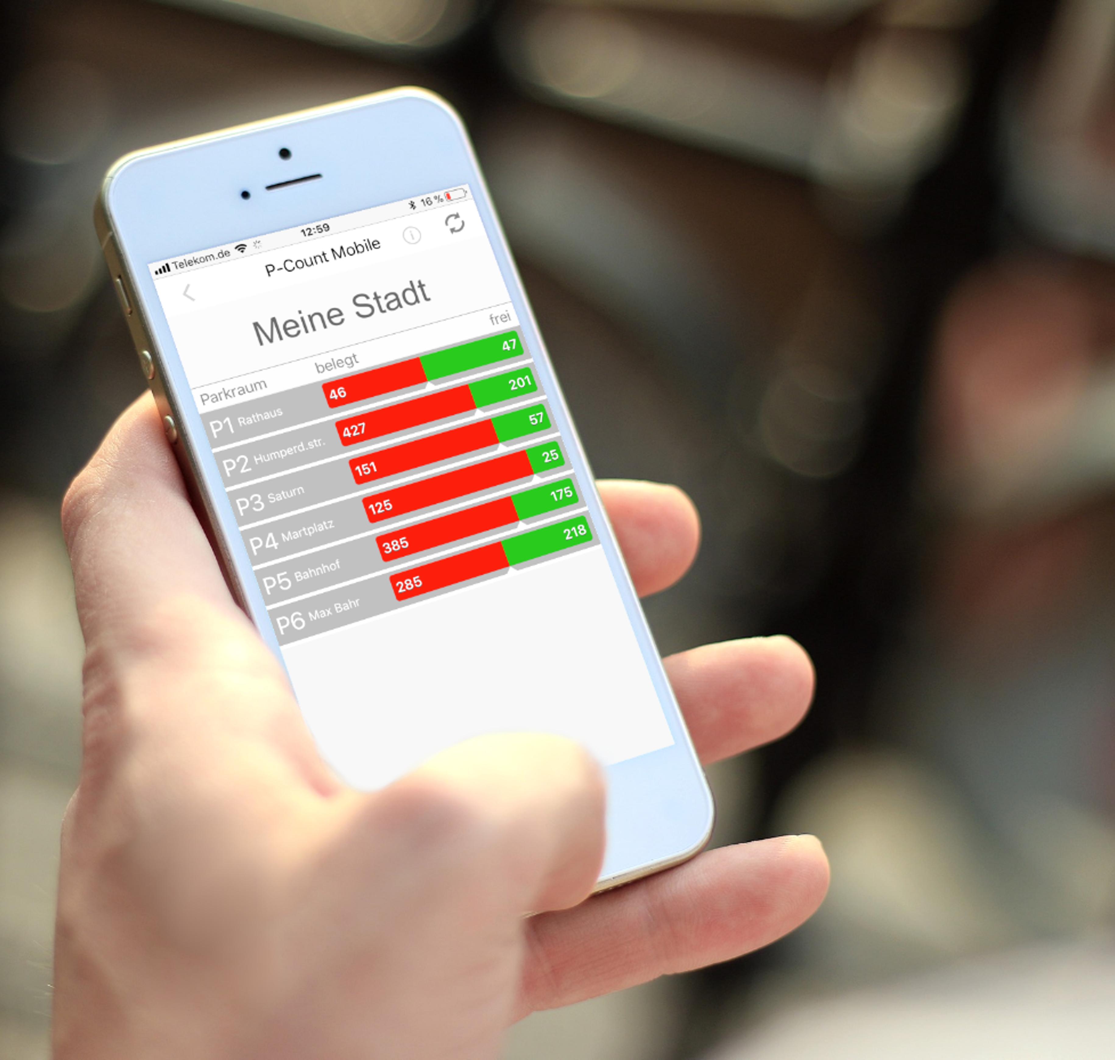Mobile App für iOs, Android und als Webapp